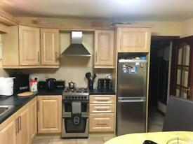 Full kitchen work top and units
