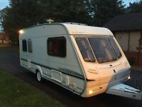 Abbey aventura 5 berth 2004 model comes with moter mover and remote 17ft 950kls empty easy towd