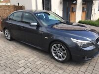 Superbly maintained '09 BMW 520d M Sport Business Media edition for trouble free motoring
