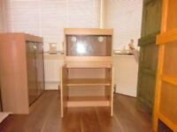 brand new 2ft vivarium and cabinet in beech