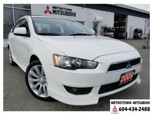 2009 Mitsubishi Lancer GTS; Leather, sunroof, rockford fosgate