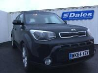 Kia Soul 1.6 GDi Connect Plus 5dr (black) 2014