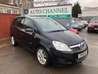 Vauxhall Zafira 1.9 CDTi 16v Design 5dr£2,795 p/x welcome FREE WARRANTY. NEW MOT