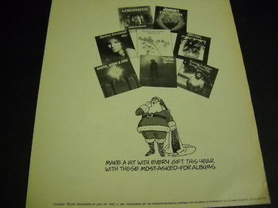 AEROSMITH Journey EARTH WIND & FIRE original 1979 R.S.M. Promo Ad ..most asked..