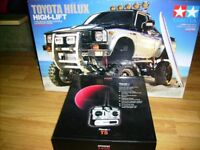 RC TAMIYA TOYOTA HILUX HIGH LIFT + MFC 02