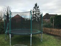 12ft trampoline free on collection