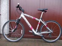 Carrera vulcan hard-tail mountain bike ,fully serviced and in excellent condition