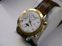Omega Speedmaster Classic Perpetual calendar automatic chronograph wristwatch - NOS - Circa 1990