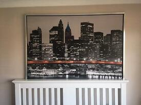 New York skyline picture from Ikea