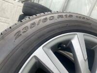 alloy wheel toyota rav 4 hybrid 235 60 18