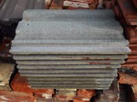 Reclaimed Concrete Roof Tiles. Sandtoft. Double Roman. Grey or Brown