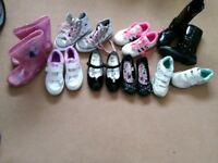 Girls shoes footwear bundle size 11 collect ml5