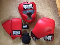 Unused Lonsdale boxing set