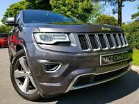 2014 JEEP GRAND CHEROKEE OVERLAND 3.0 CRD 247 BHP, ONE OWNER, MASSIVE SPEC, STUNNING JEEP, FINANCE
