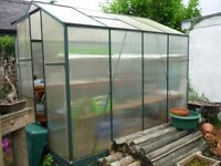 Greenhouse 8ft x 6ft Free if you are prepared to disassemble
