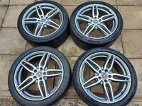 "Genuine Mercedes AMG 19"" Alloy Wheels & Tyres"