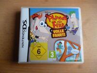 Nintendo DS Spiel Phineas & Ferb - Volle Fahrt Nordrhein-Westfalen - Overath Vorschau