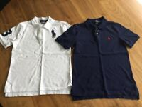 Boys Kids POLO Ralph Lauren RL shirts. Size M 10/12. Designer wear. Excellent condition.