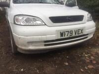 Astra mk4 front bumper white