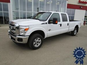 2015 Ford F-350SD XLT Crew Cab 4X4 Diesel Long Box 8' 30,529 Kms
