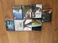 8 dvds mixed