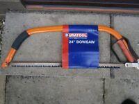 Duratool 24 Inch Bowsaw