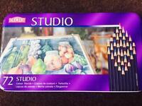 Derwent studio colouring pencils