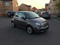 2010 FIAT 500 LOUNGE TAX £30 ,12 MONTH MOT ,FULL SERVICE HISTORY LOW MILEAGE FULL HPI CLEAR