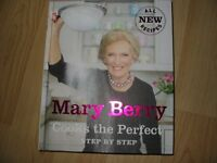 MARY BERRY - COOKS THE PERFECT STEP BY STEP BOOK - IMMACULATE, SHOP CONDITION