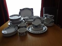 Dinner/tea set - Midwinter - Spanish Garden - in almost perfect condition
