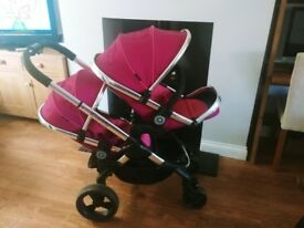 Icandy Peach double buggy