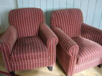 Pair of Ladies Armchairs