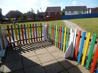 8 fencing panels