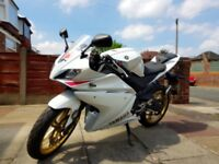 Yamaha YZF-R125 (mileage 3,000 only!)