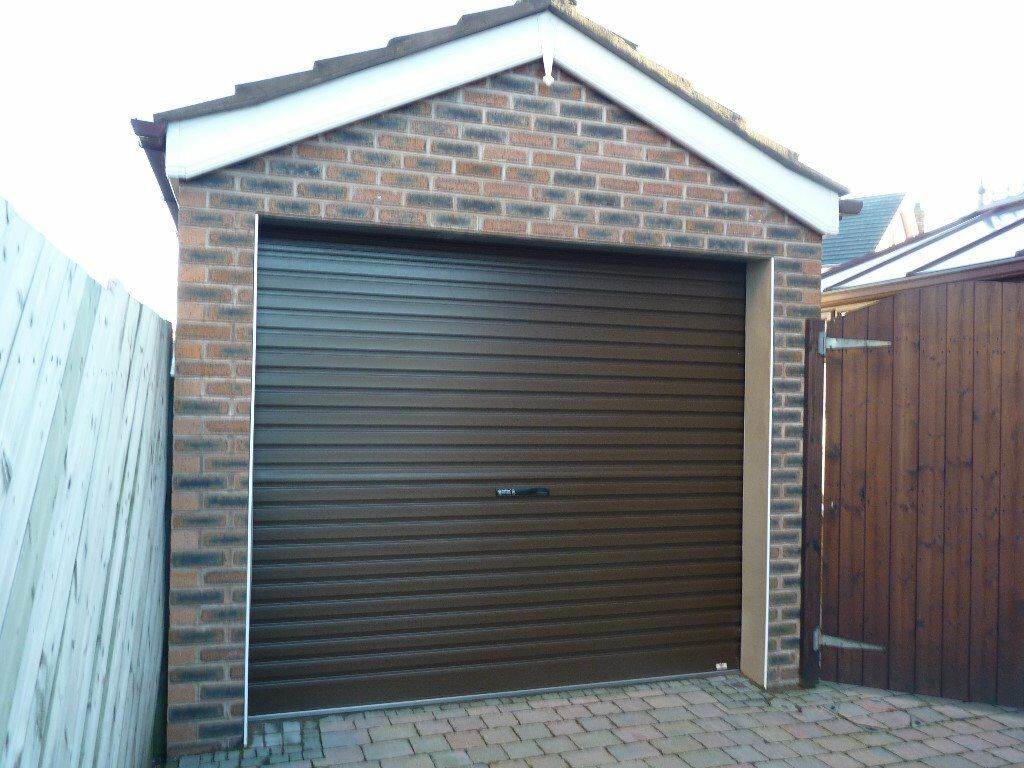 Factory seconds brown roller door garage door in newtownards factory seconds brown roller door garage door rubansaba