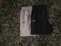 X2 under armour tracksuit jogger bottoms worn but I good condition