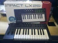 MIDI CONTROLLER KEYBOARD nektar lx25+ BRAND NEW BOXED