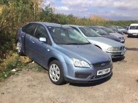 2007 FORD FOCUS DIESEL NICE CLEAN CAR VERY ECONOMICAL ALLOYS CD AIR IN METALLIC BLUE PX WELCOME