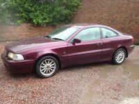 VOLVO C70 2.5 COUPE ONLY £675 THATS RIGHT £675, GIVEAWAY PRICE