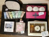 Christmas gift job lot next m&s soap cream makeup ect £45 the lot