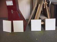 4 quality primed canvases