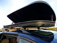 Farad F3 680 Litre Roof Box and Bars - LARGEST BOX AVAILABLE!