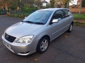 Toyota Corolla 1.6 2003 12 Month Test Great Condition