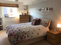 Double room with en suite to rent in modern west end flat