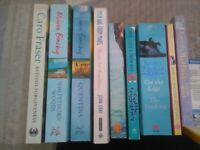 Fiction Books X 9 ladies fiction Arabella Weir, Josie Lloyd Diary of Mad Bride