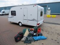 Sprite Alpine 2008 year,2 berth,full new awning,all accessories,full history,just been serviced