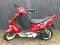 Peugeot speed fighter 50cc Full logbook one year mot