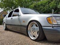 Mercedes W140 S320 Auto Limosine I.C E Splits Show Car AMG Stance Slammed Modified Works Ryver