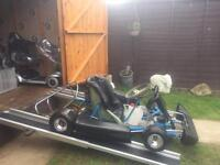 TEENAGERS HONDA GX120 PETROL GO-KART ( MAY SWAP )