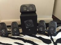 Logitech Surround Sound Speakers Z-506 (Never Used)
